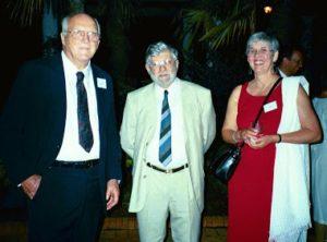 Marc de Chazal ( USA), Pierre de Chazal (Australie), Mathilde Mayer (UK)