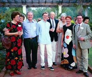 Claire de Chazal (USA), Gilly de Chazal (UK), Paul de Chazal (France), Paul Guillaume de Chazal (France), Guy de Chazal (USA), Françoise Mayer (UK), Anny de Chazal (USA), Edward de Chazal (UK)