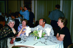 Françoise Mayer (UK), Thelma de Chazal (UK), Christopher de Chazal (UK), Charlotte Baissac (Canada)
