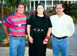 Augusto de Chazal (Argentina), Suzanne de Chazal (USA) Jose Maria de Chazal (Argentina)