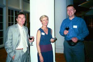 Jean-Pierre de Chazal (USA), Claudine de Chazal (France), Richard Heaton (UK)