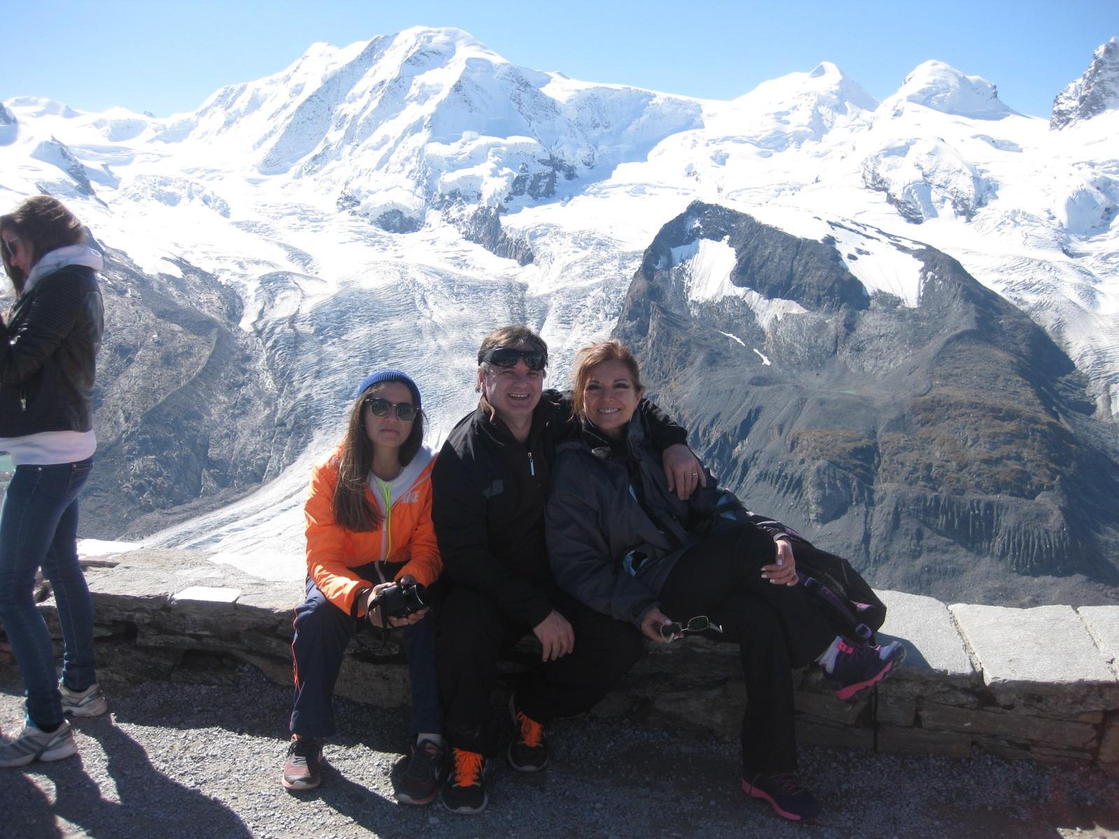 Mariana, Jorge et Roxana Giordano